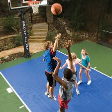 Half Court Basketball Dimensions For A Backyard by Sport Court Experienced Courtbuilders Sport Court