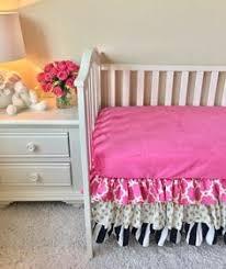 purple ombre crib skirt lavender crib skirt purple crib skirt