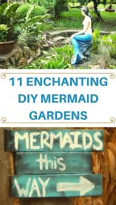 Mermaid Decorations For Home 11 Enchanting Diy Mermaid Gardens That Will Inspire You