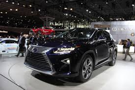 lexus lx pictures 2016 lexus rx at new york international auto show 13 u2013 clublexus