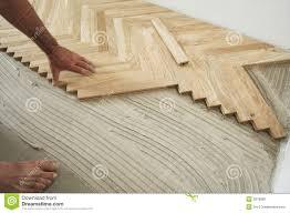 parquet floor and carpenter stock photo image 3978800
