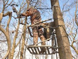 tree stands can be dangerous for hunters but there are ways to