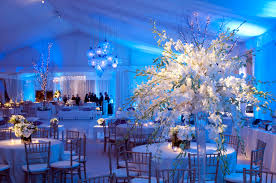 wedding decoration ideas white winter wedding decor with large