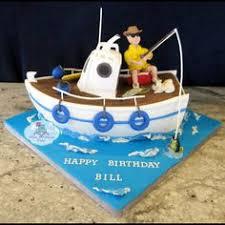 cakelava william u0027s 50th birthday fishing boat cake cake by rick