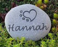 pet memorial stones small personalized pet memorial river