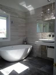 Bathroom Tile Ideas Pinterest Love The Use Of The Stone Mix Range With Mosaic Feature Wall By