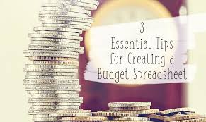 How To Make Budget Spreadsheet 3 Essential Tips For Creating A Budget Spreadsheet Tastefully