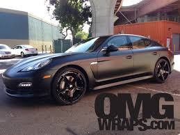 porsche inside view porsche panamera satin matte wrap by omgwraps com in stockton ca