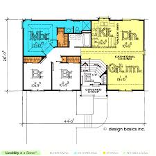 house plans for entertaining split entry house plans design basics corglife