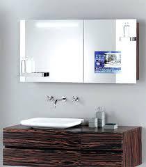 mirror cabinet tv cover tv in mirror atech me