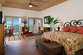 2 Master Bedroom Beach Villa Paprika Grace Bay Beach Providenciales Provo