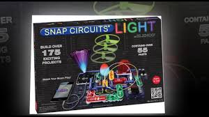 snap circuits lights electronics discovery kit elenco scl 175b snap circuits lights electronics discovery kit youtube
