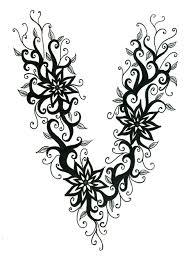 vine tattoo by 13star on deviantart