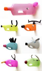 kids crafts animals from plastic bottles features recycled crafts
