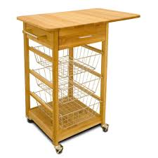 Homedepot Kitchen Island Catskill Craftsmen Natural Kitchen Cart With Storage 64024 The