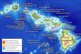 map of hawaii island division of aquatic resources regulated areas