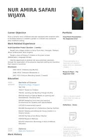 english language teacher sample resume best resumes curiculum