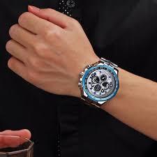 2017 fashion wwoor mens watches top brand luxury quartz