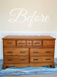 Update A Dresser Livelovediy How To Paint Furniture Why It U0027s Easier Than You Think