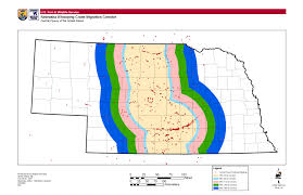 Waterfowl Migration Map Predicting And Mapping Potential Whooping Crane Stopover Habitat