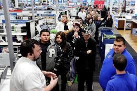 thanksgiving weekend shoppers top 141 million spend 57 billion