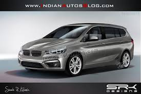 bmw 7 seater cars in india bmw active tourer 7 seater mpv rendered