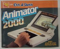 ohio art instruction manual for etch a sketch animator 2000 book