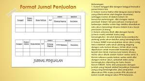 format buku jurnal penerimaan kas tri suranti 7101413204 presentasi materi