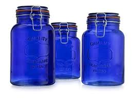 blue kitchen canister set blue kitchen canister sets of 3
