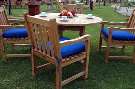 Teak Patio Chairs Teak Patio Dining Set