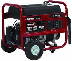 powermate portable generator pm0435005 6250 watt subaru
