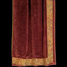 Burgundy Velvet Curtains Unreserved Rago Auctions