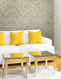 zebra print wallpaper feature wall the colour pop compliments the zebra print wallpaper feature wall the colour pop compliments the monochrome paper