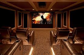 Home Theater Design Lighting 10 Awesome Basement Home Theater Ideas