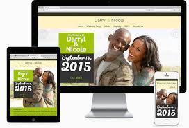 wedding websites contempo theme wedding websites