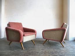 sessel 50er design sessel 50er rosa beige yvontage vintage neu erleben