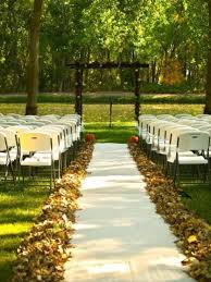 outside wedding ideas picture of awesome outdoor fall wedding decor ideas