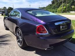 roll royce purple indigo 2015 rolls royce wraith