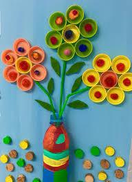 plastic bottle cap milk cap u0026 lid crafts for kids to make