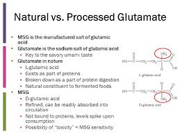 glutamate de sodium cuisine monosodium glutamate obesity ppt