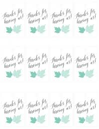 thank you tags 10 minute printable hostess thank you tags