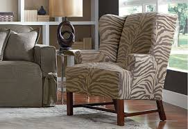 sure fit slipcovers wing chair take a walk on the side our velvet textured zebra stripes