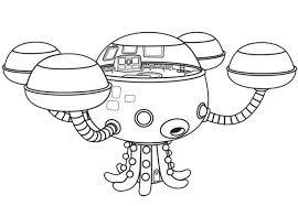 Coloring Pages The Octonauts Drawing Octonauts Coloring Pages