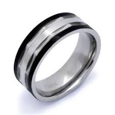 stainless steel wedding bands two tone stainless steel wedding band ring kriskate co