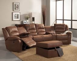 Microfiber Sofa Sectionals Marvelous Microfiber Reclining Sectional Sofa Saddle Microfiber