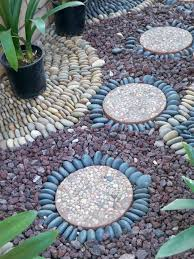 garden pathway pebble mosaic ideas for your home surroundings