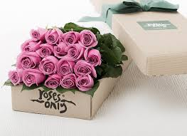 roses delivery mauve flowers box roses delivery online florist new york