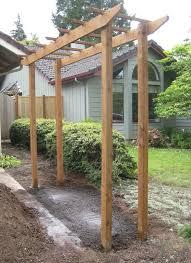 Building A Arbor Trellis Best 25 Hops Trellis Ideas On Pinterest Hops Plant Vine Fence