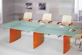 Glass Top Conference Table Treazure Glass Top Modern Boardroom Conference Table On Sale Now
