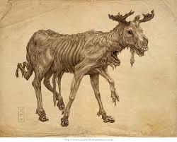nuked moose by keithwormwood on deviantart